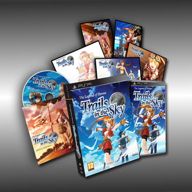 PSP Legend of Heroes: Trails in the Sky Trails-in-the-sky-eu-collectorc2b4s-edition