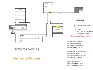 [Subculture works.] Onimusha Warlords Unteres Verlies