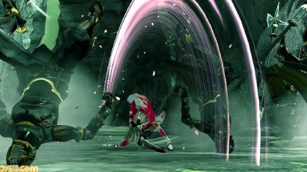 [Famitsu] Drag-On Dragoon 3 Gameplay 3