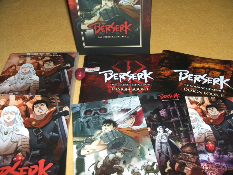 [Universum Anime] Berserk - Das Goldene Zeitalter II erscheint im Sommer (2/2)