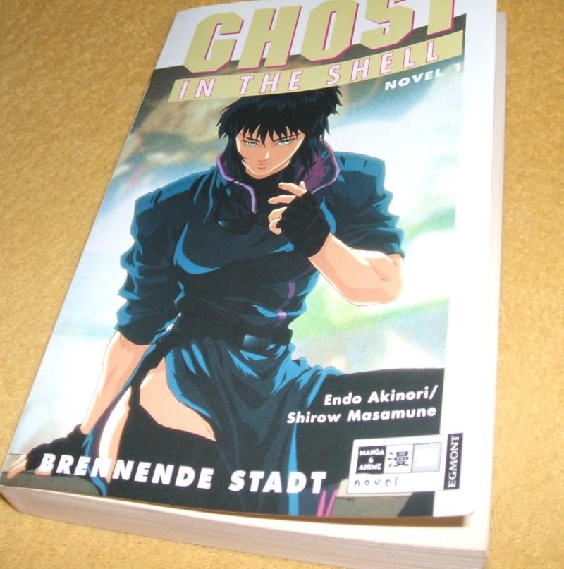 [Buchvorstellung] Ghost in the Shell - Brennende Stadt (5/5)