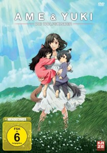 [KAZE Anime] Ame & Yuki Die Wolfskinder DVD Cover