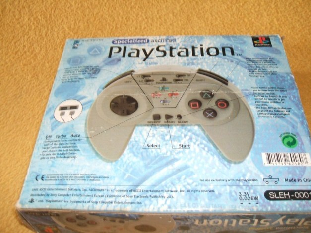 [Subculture works.] Specialized asciiPad PlayStation 1