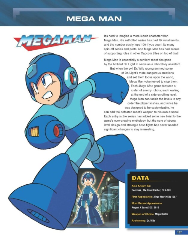 [BradyGames] Capcom 30th Anniversary Character Encyclopedia Preview  2