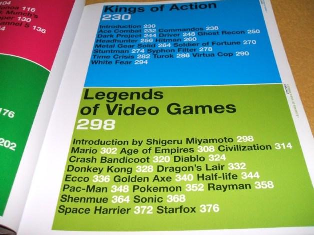 [Subculture works.] 1000 game heroes Inhaltsverzeichnis