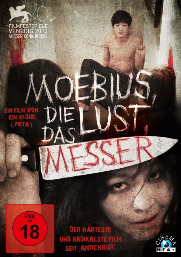 [Ascot Elite] Moebius, Die Lust, Das Messer DVD Cover