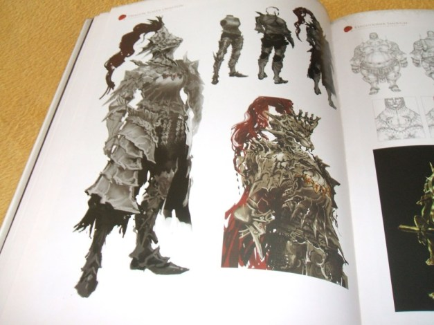 [Subculture works.] Dark Souls Design Works Boss Monster Materials 1