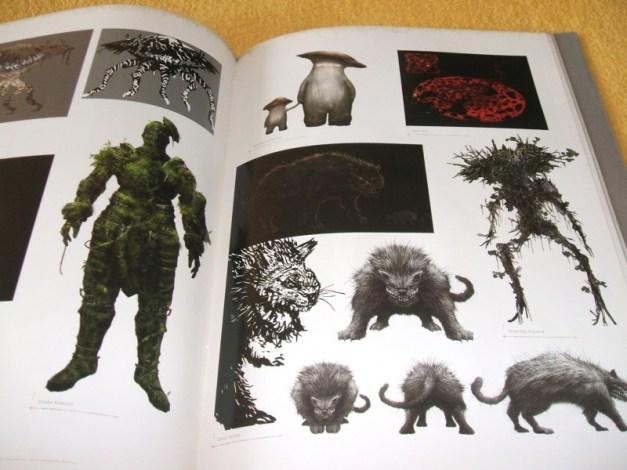 [Subculture works.] Dark Souls Design Works Monster Materials