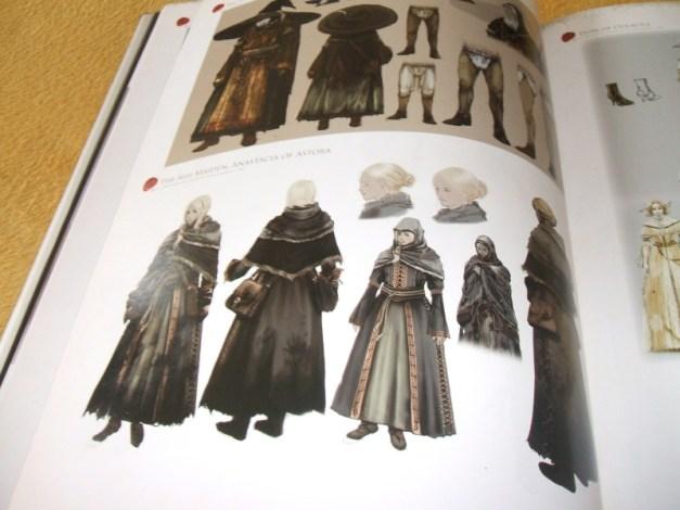 [Subculture works.] Dark Souls Design Works NPC Materials 3