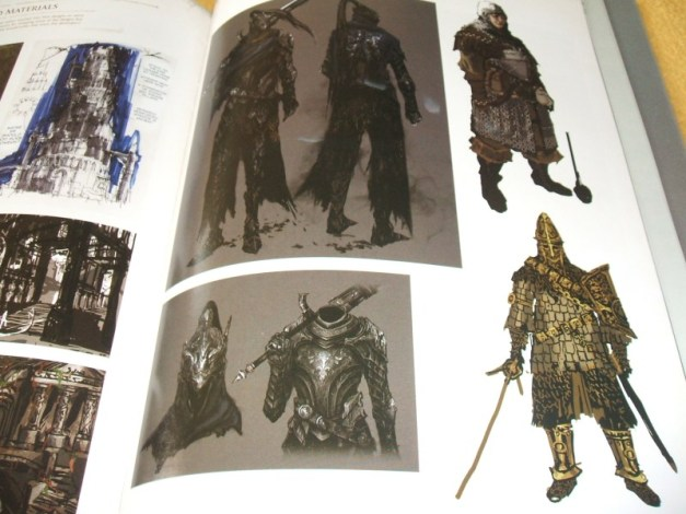 [Subculture works.] Dark Souls Design Works Player Unused Materials