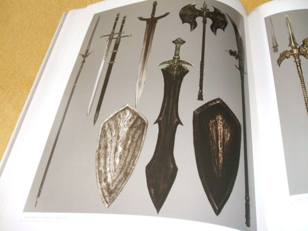 [Subculture works.] Dark Souls Design Works Player Weapon Materials
