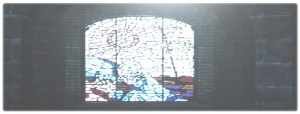 [Subculture works.] D Rotationsraum Glasbild