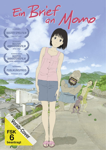 [Universum Anime] Ein Brief an Momo DVD Vorab-Cover