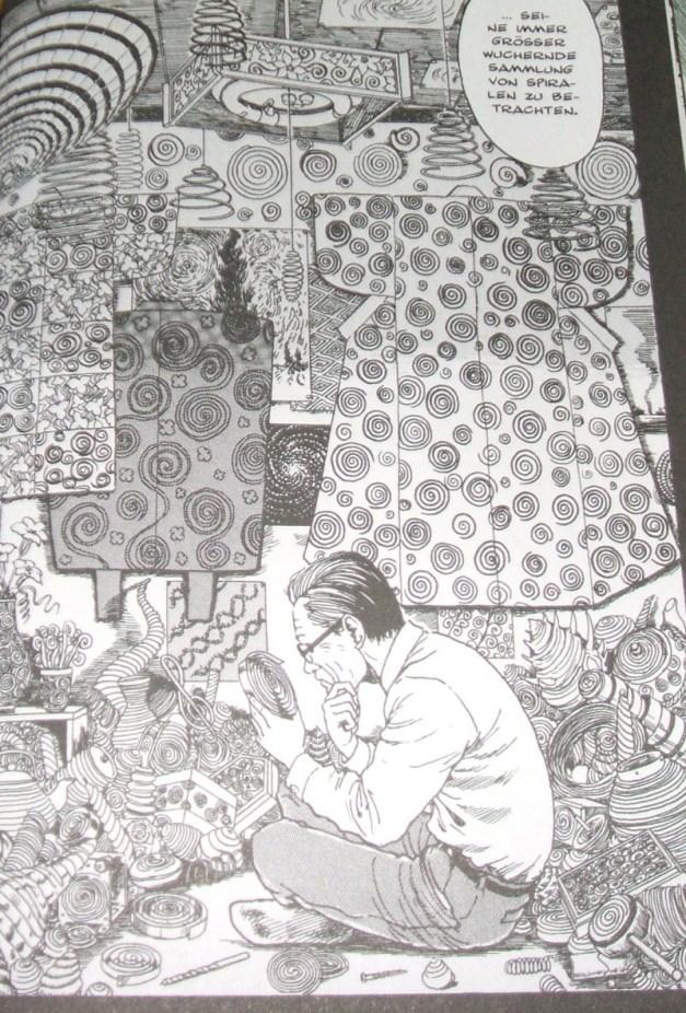 [Subculture works.] Junji Ito Uzumaki Herr Saito Spiralen