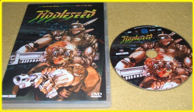 [Subculture works.] Appleseed DVD Cover - DVD