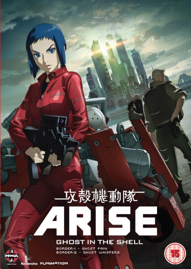 Ghost in the Shell Arise Borders Pt.1 & 2