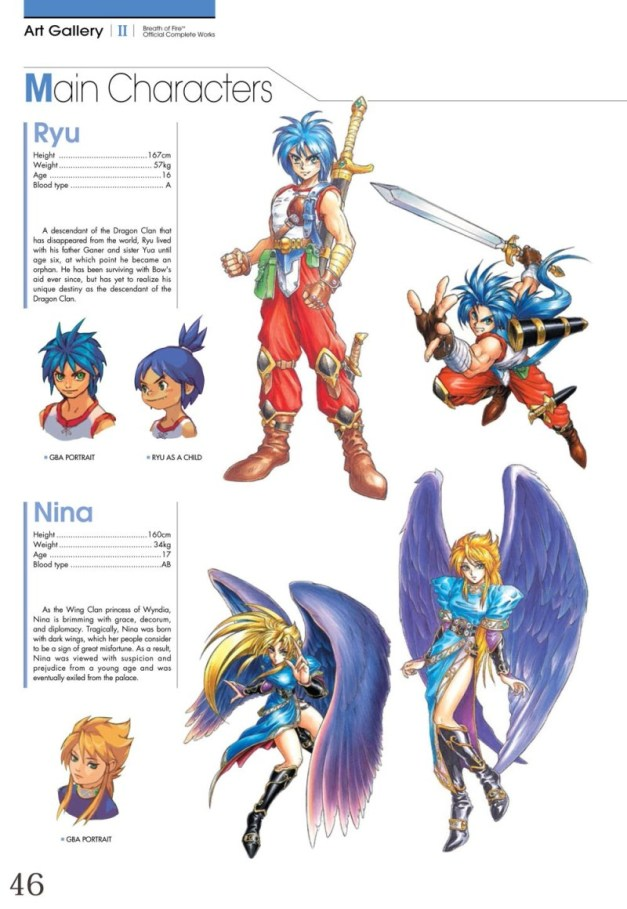 [UDON Entertainment] Breath of Fire Official  Complete Works Preview Page 3