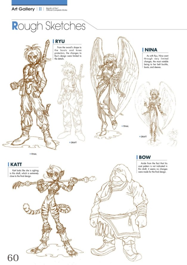 [UDON Entertainment] Breath of Fire Official  Complete Works Preview Page 4