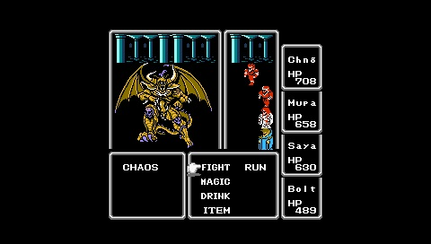 [Subculture works.] Final Fantasy NES Chaos
