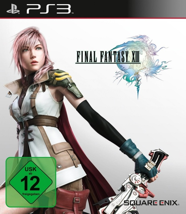 Final Fantasy XIII Cover Art