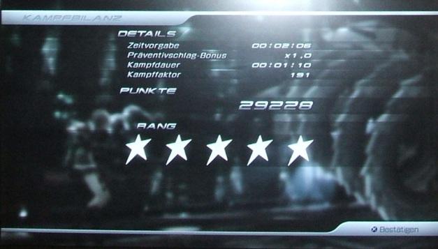 Final Fantasy XIII Kampfbilanz