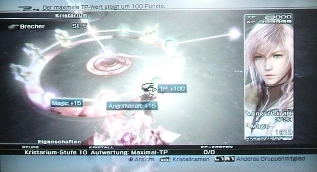 Final Fantasy XIII Lightning Kristarium