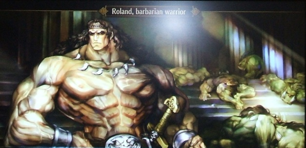 [Subculture works.] Dragon's Crown - Ancient Temple Ruins - NPC Roland