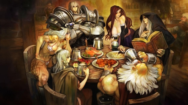 [Vanillaware] Dragon's Crown Art